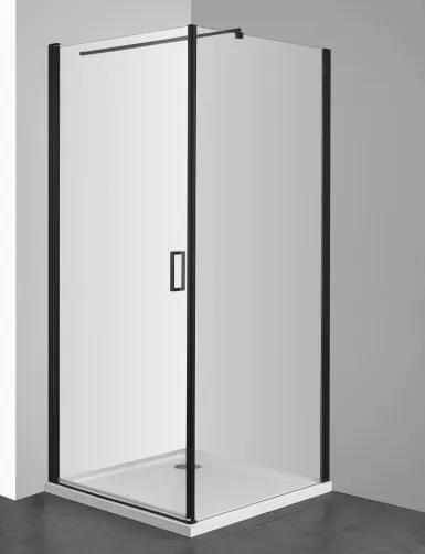 Perete lateral Sanotechnik Soho Black Edition Elite 80cm