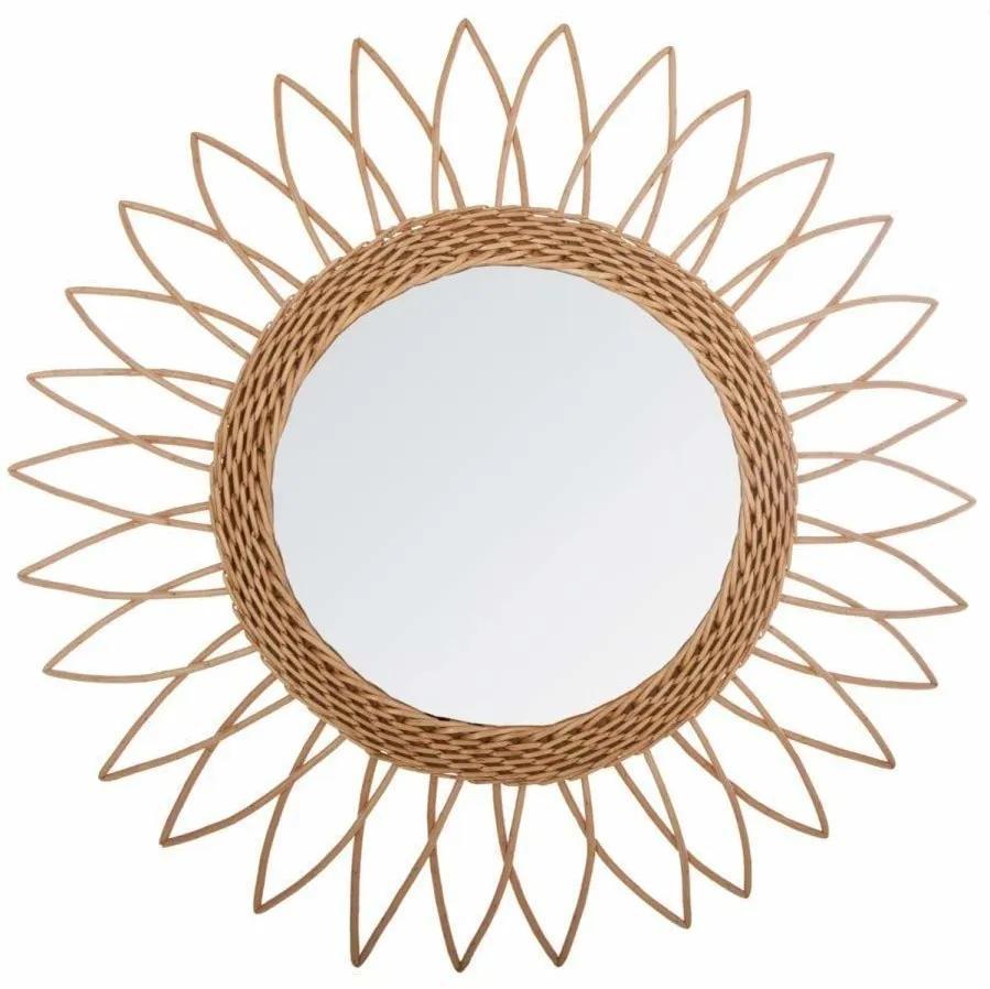 Oglindă într-un cadru rotund, de perete, în formă de soare, Atmosphera