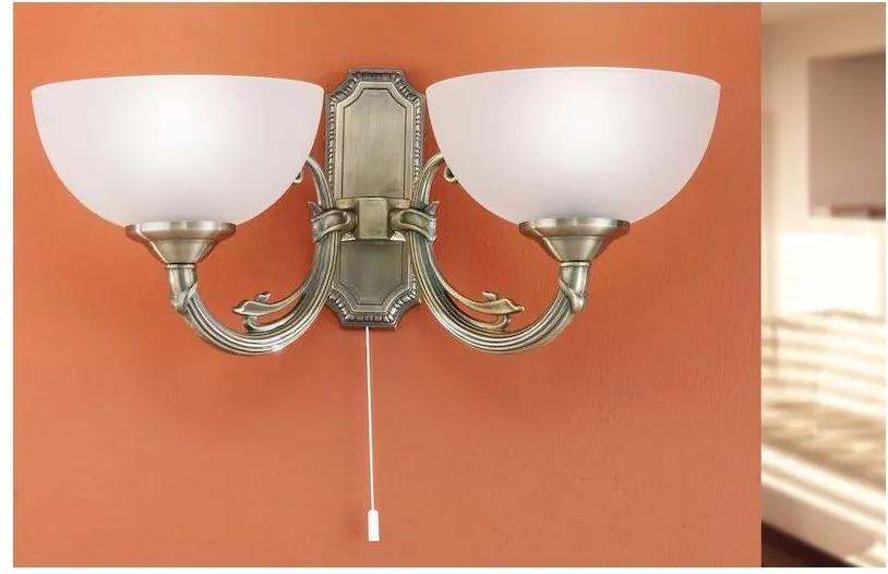 EGLO 82752 - Corp de iluminat perete SAVOY 2xE14/40W/230V