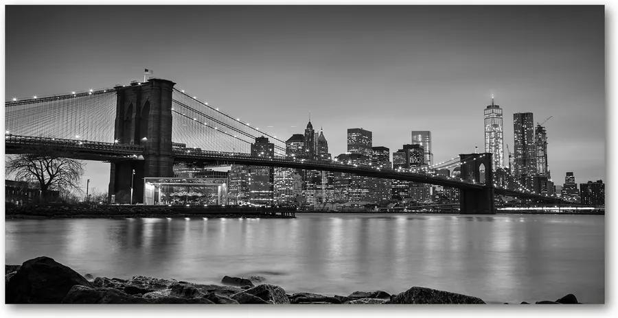 Pictura pe sticlă acrilică New York