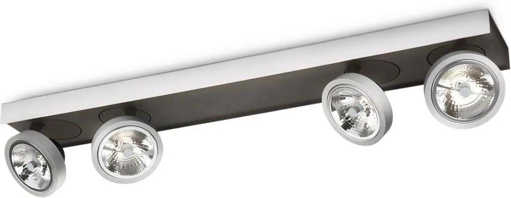 Philips Lirio 57984/48/16 - Lampa spot BONQ 4xG53/45W/230V