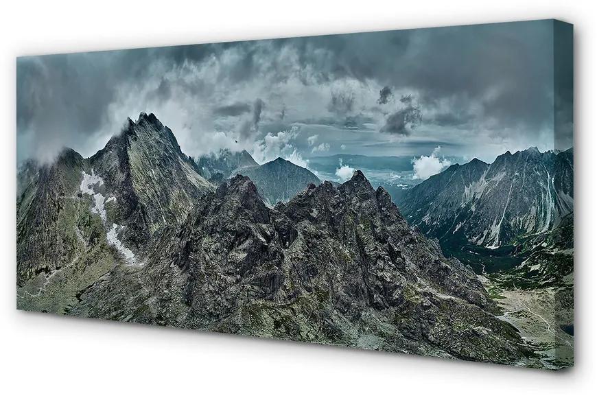 Tablouri canvas Tablouri canvas rocă de munte