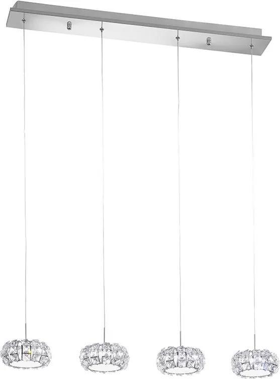 Eglo 39007 - LED Lampa suspendata CORLIANO 4xLED/5W/230V