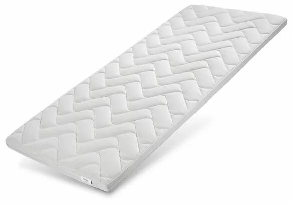 Topper Blekinge, spuma, alb, 200 x 180 cm