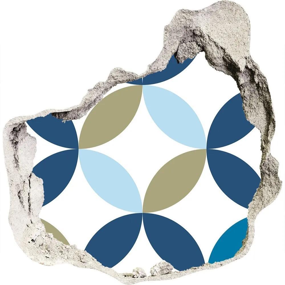 Autocolant autoadeziv gaură Fundal geometrică