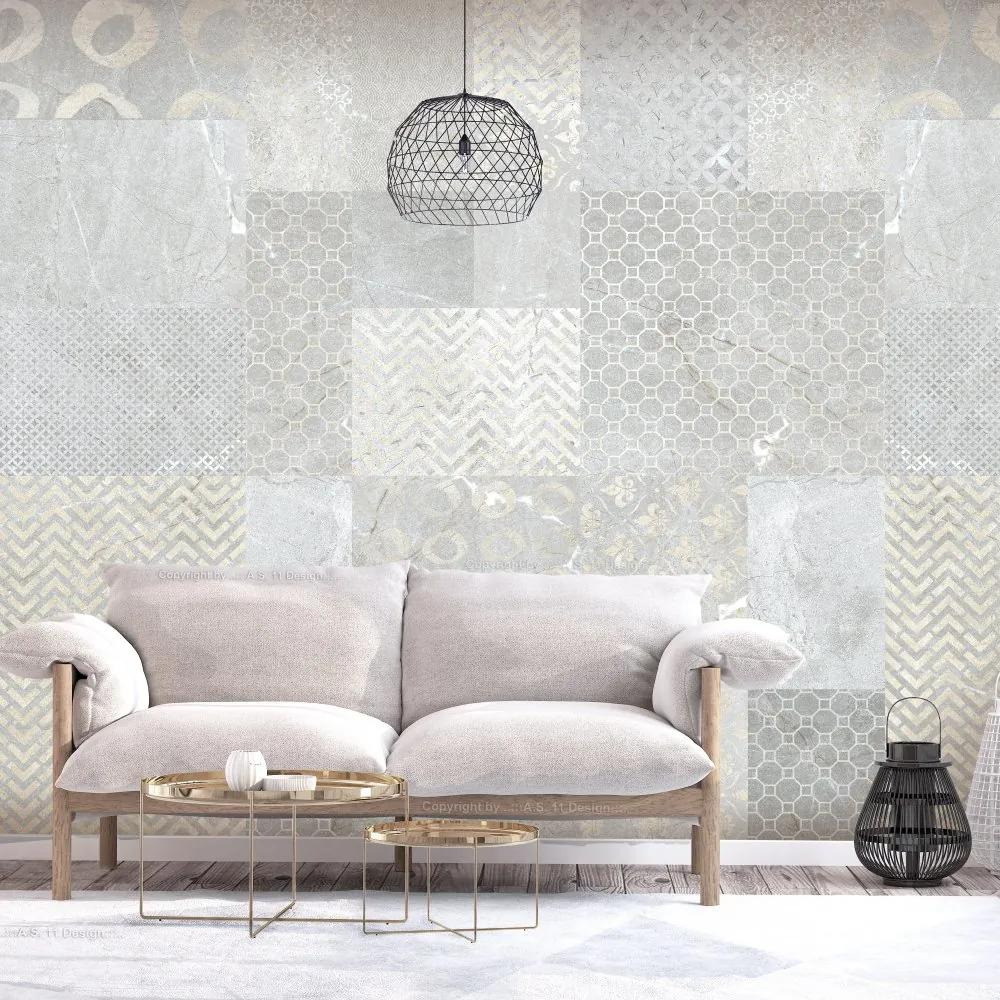 Fototapet Bimago - Tiles + Adeziv gratuit 200x140 cm