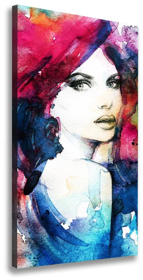Tablou pe pânză canvas Abstracție femeie