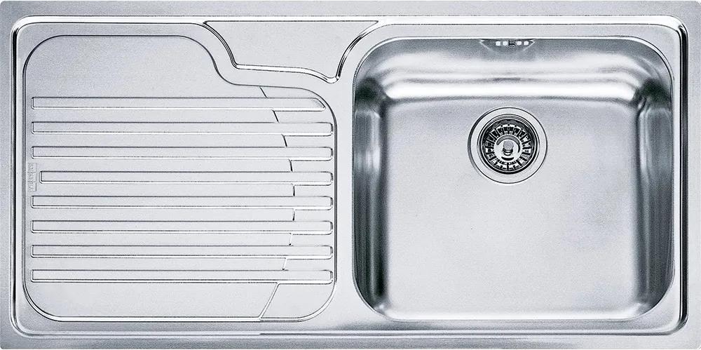 Chiuveta Franke Galassia GAX 611 slim, picurator stanga, 1000x500mm, inox