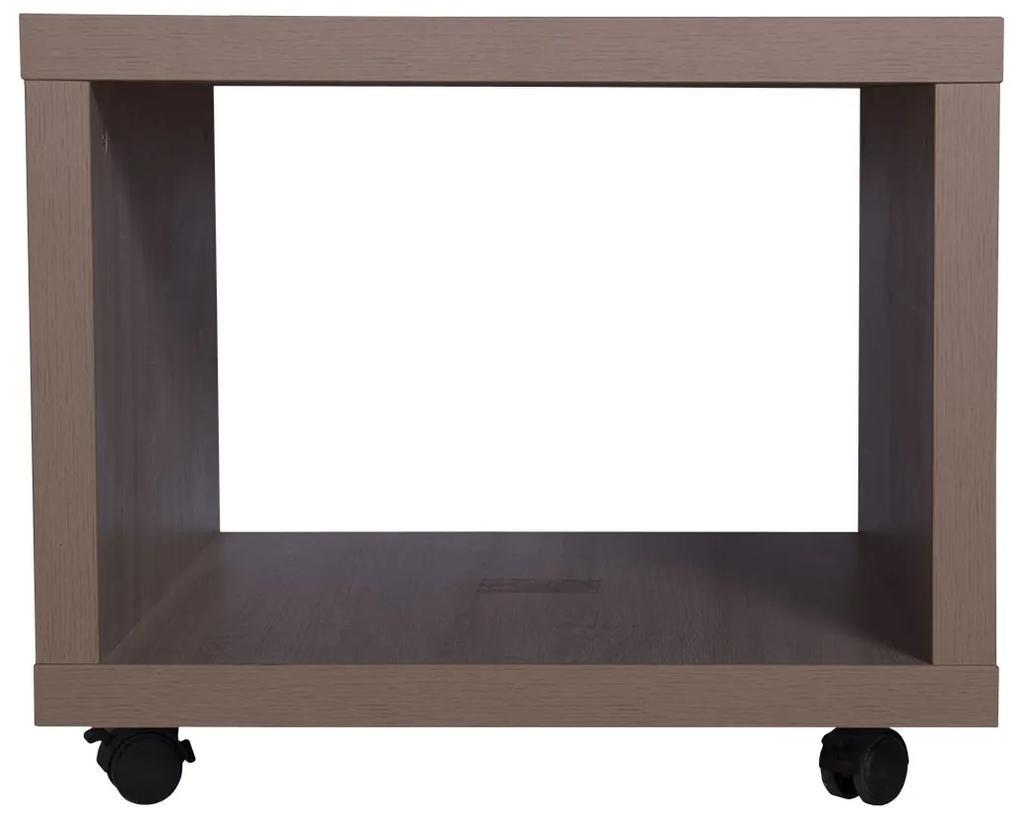 Masuta mobila, 55x40x55 cm, PAL Stejar