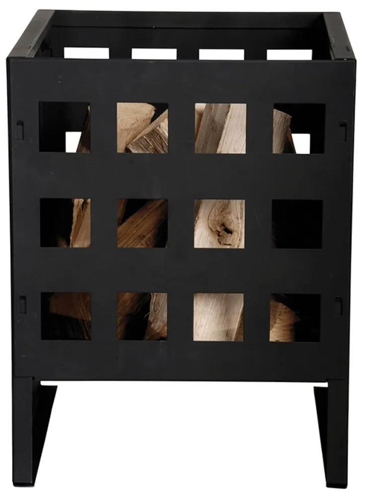 404621 Esschert Design Coș pentru foc, pătrat FF87