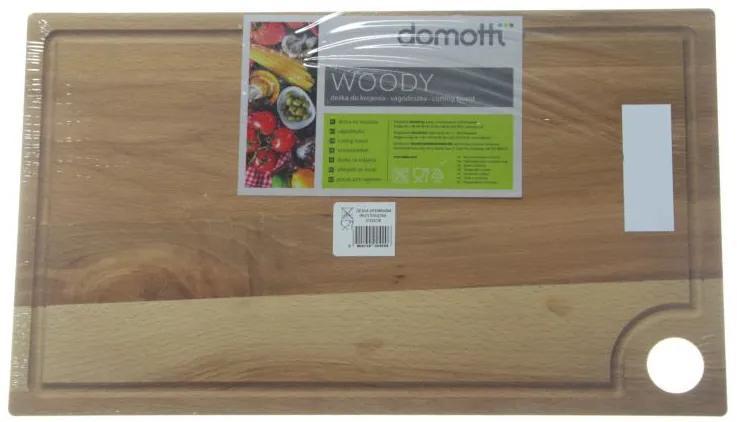 Tocator din lemn dreptunghiular, 37x22cm