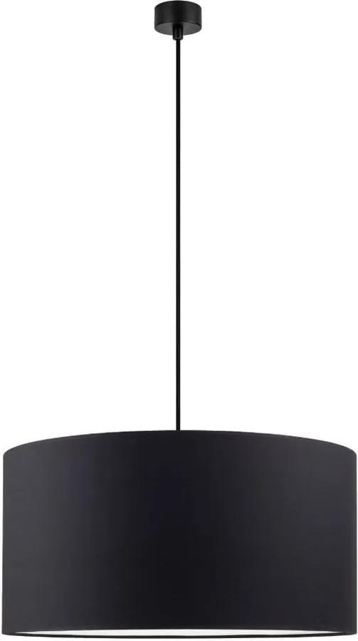 Lustră Sotto Luce Mika, ∅ 50 cm, negru