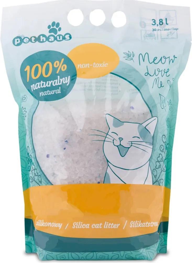 Nisip Silicagel pentru pisici Pethaus