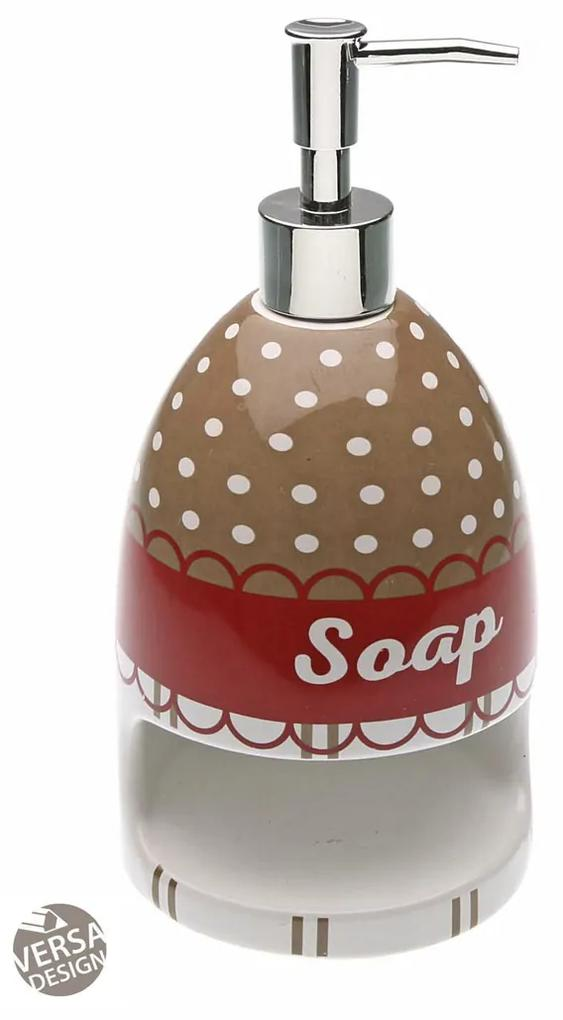 Dispenser sapun cu suport burete Versa Bonheur