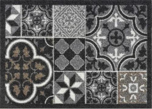 Covoras intrare antimurdarie Creation Tiles antracit 50x70 cm