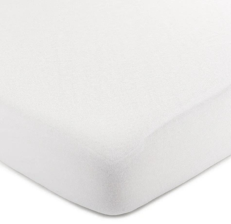 Cearșaf de pat 4Home jersey, alb, 220 x 200 cm, 220 x 200 cm