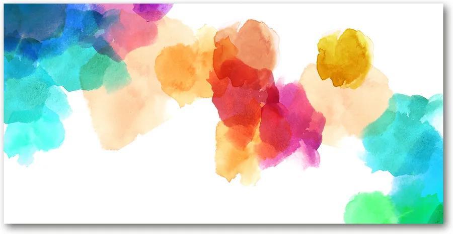Tablou sticlă Pete colorate