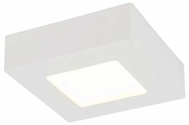 Plafoniera LED Svenja III fier/plastic, alb, 1 bec, 230 V