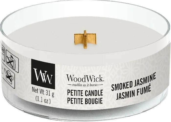 WoodWick lumanare parfumata Petite Smoked Jasmine