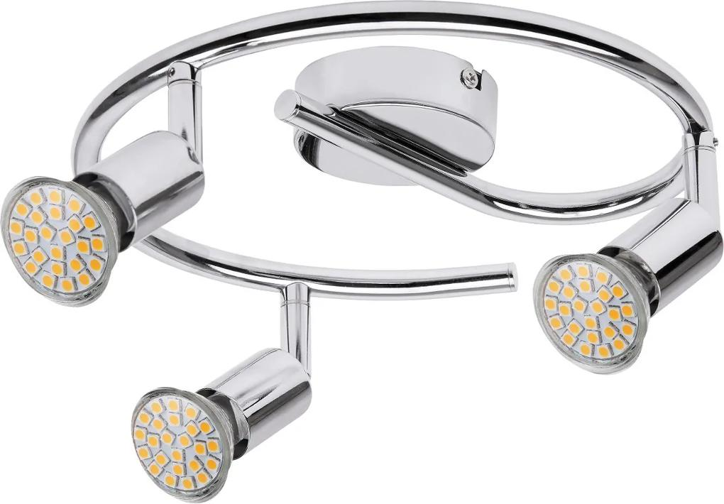 Plafoniera Spot Norton LED, 3 x GU10 max 50W
