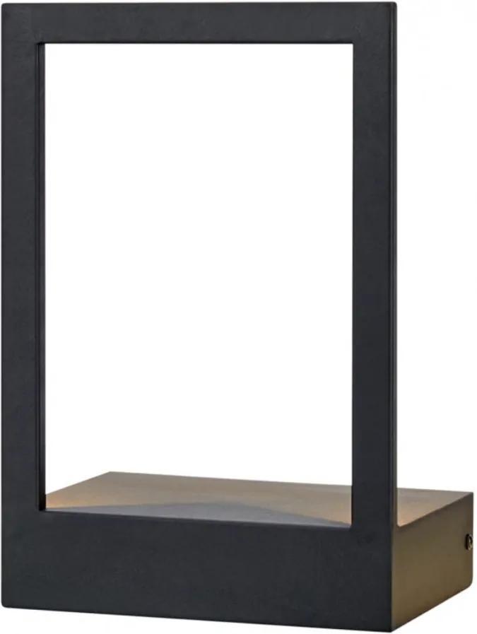 Aplica LED Pablo I metal, 1 bec, negru