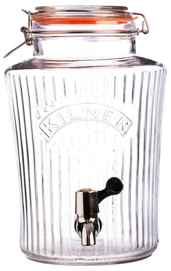 Dozator băuturi cu robinet Kilner Vintage, 5 L