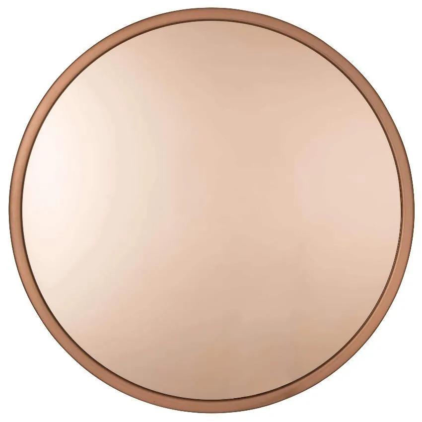Oglinda decorativa rotunda cupru Ø60cm Bandit Copper