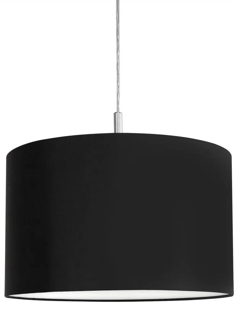 Eglo 22636 - Lustră pe cablu HALVA 2 1xE27/60W/230V