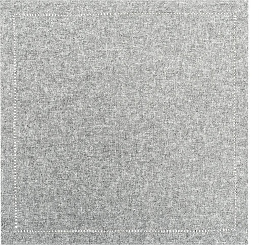 Față de masă gri, 85 x 85 cm