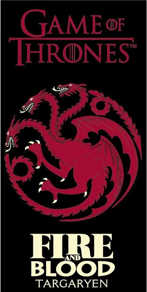 Prosop Game of Thrones Fire and Blood, 70 x 140 cm