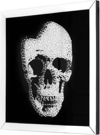 Tablou Mirror Skull 80x80cm