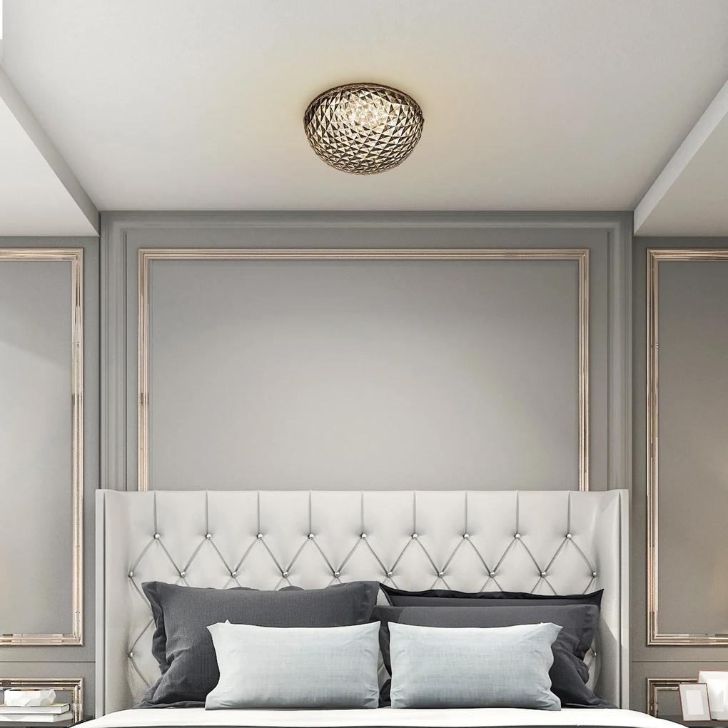 Plafonieră cu LED 24W gri/alb