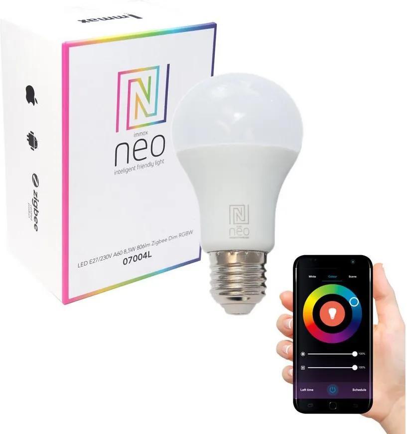 Immax NEO 07115L - LED RGB Bec dimmabil E27/9W/230V 1800-6500K