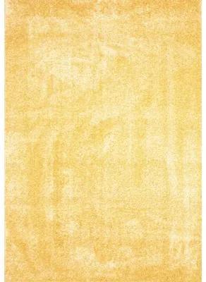 Covor Puffy galben 80x150 cm