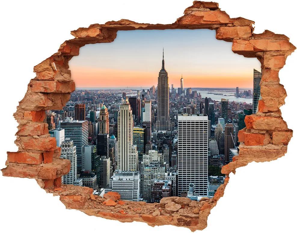 Autocolant autoadeziv gaură New York