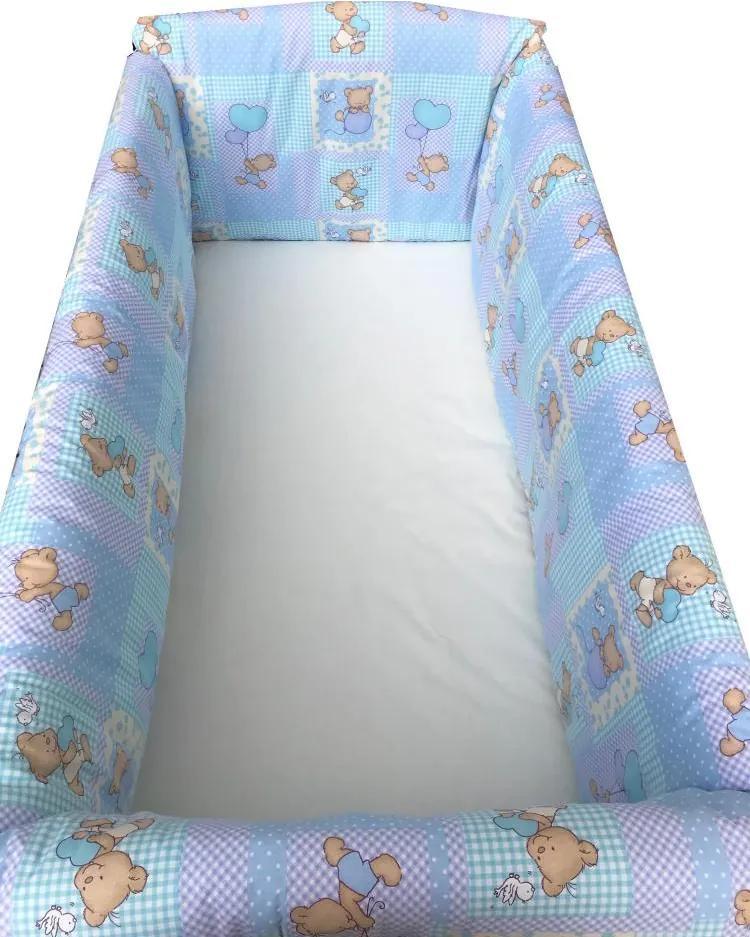 Aparatori Maxi Ursuleti pe albastru 140x70 cm