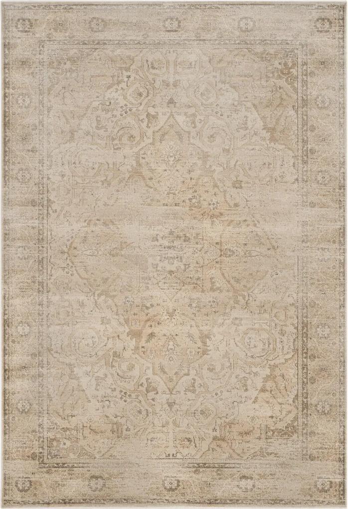 Covor Oriental & Clasic Charlotte, Gri, 200x280