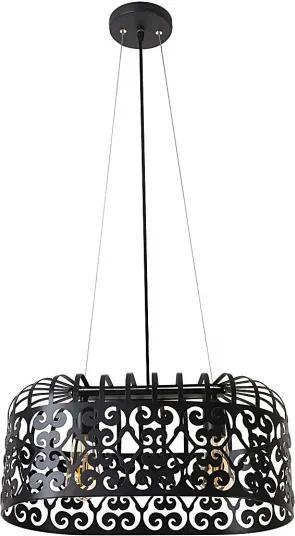 Rábalux Alessandra 2157 Pendule moderne negru mat metal E27 2x MAX 60W IP20