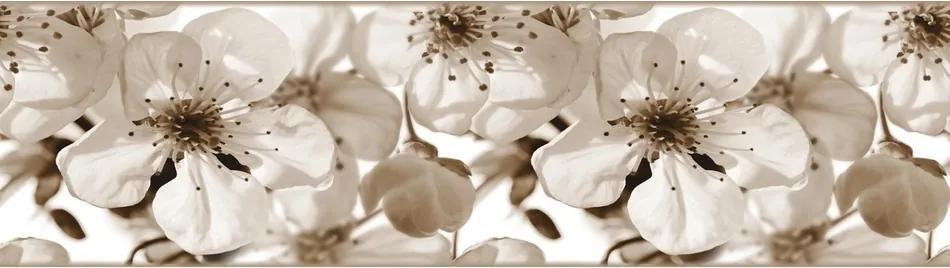 Bordură autoadezivă Lumea merelor, 500 x 14 cm
