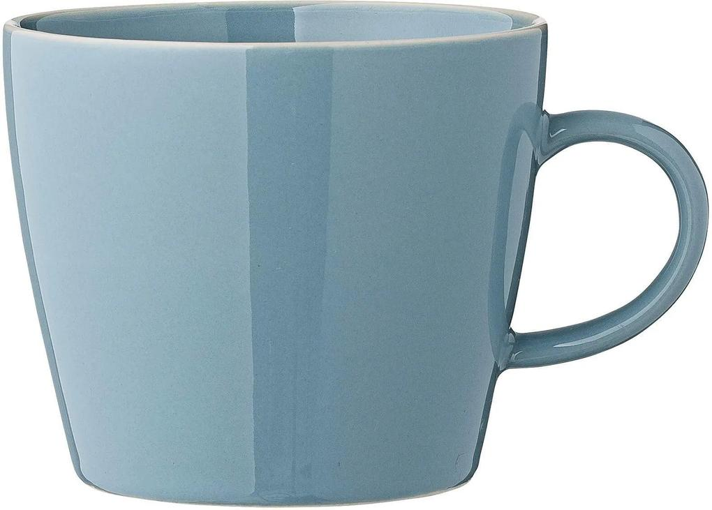 Cana din Ceramica Olivia - Ceramica Albastru Diametru(9.5 cm) x Inaltime(8 cm)