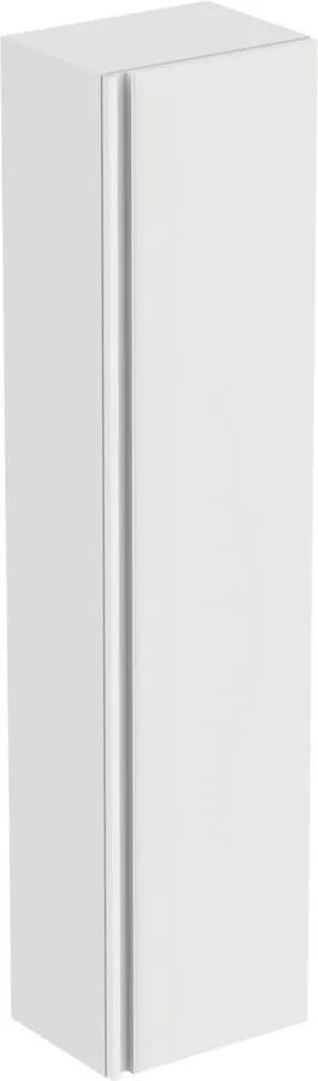 Dulap inalt suspendat Ideal Standard Tesi cu o usa, 400x300x1700 mm, alb lucios