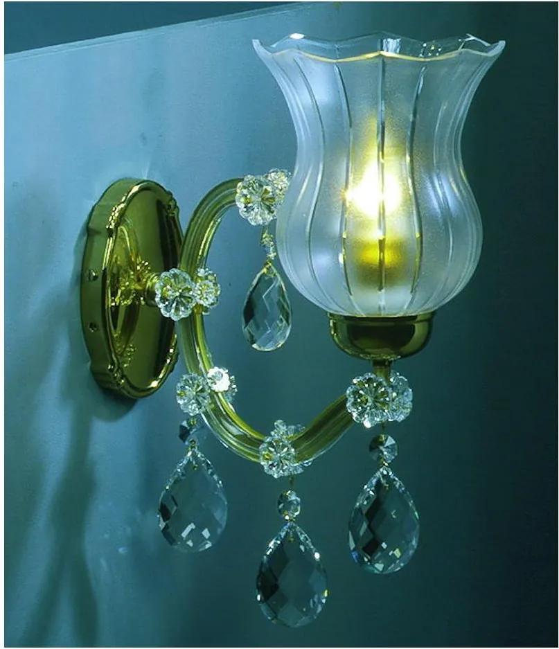 Artcrystal PWM571001001 - Corp de iluminat perete 1xE14/40W/230V