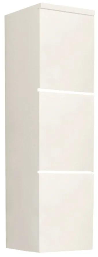Dulap înalt, alb/albă HG, MASON WH11