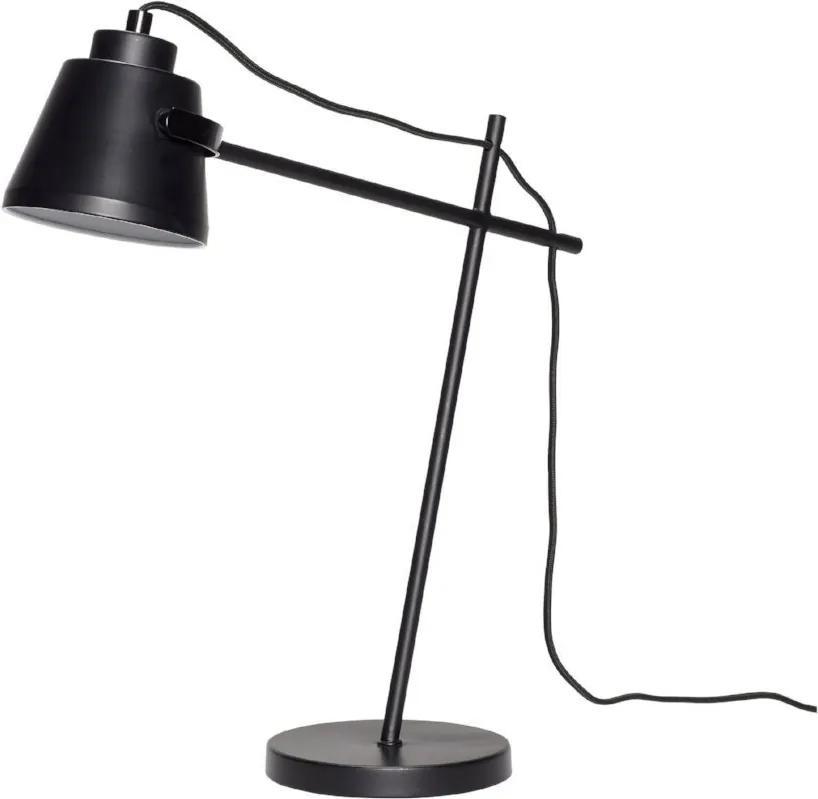 Lampa de Birou din Metal Neagra - Metal Negru Diametru(40 cm) x Inaltime(41 cm)