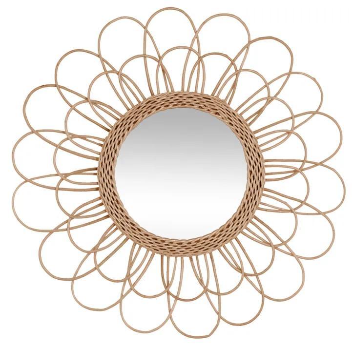 Decoratiune de perete cu oglinda JJA Flower