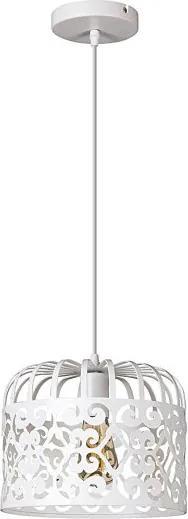 Rábalux 2161 Pendul cu 1 braț Alessandra alb mat metal E27 1x MAX 60W IP20
