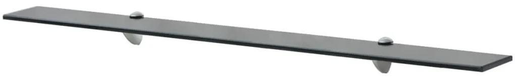 243793 vidaXL Raft suspendat din sticlă, 100 x 20 cm, 8 mm