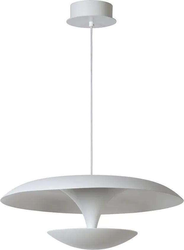 Lucide 30480/24/31 - LED lampa suspendata BIMSE LED/24W/230V alba