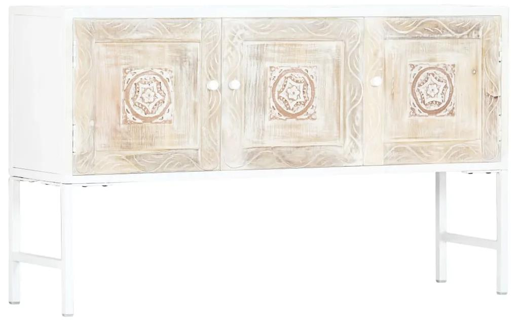 247705 vidaXL Dulap lateral, 120 x 30 x 70 cm, lemn masiv de mango