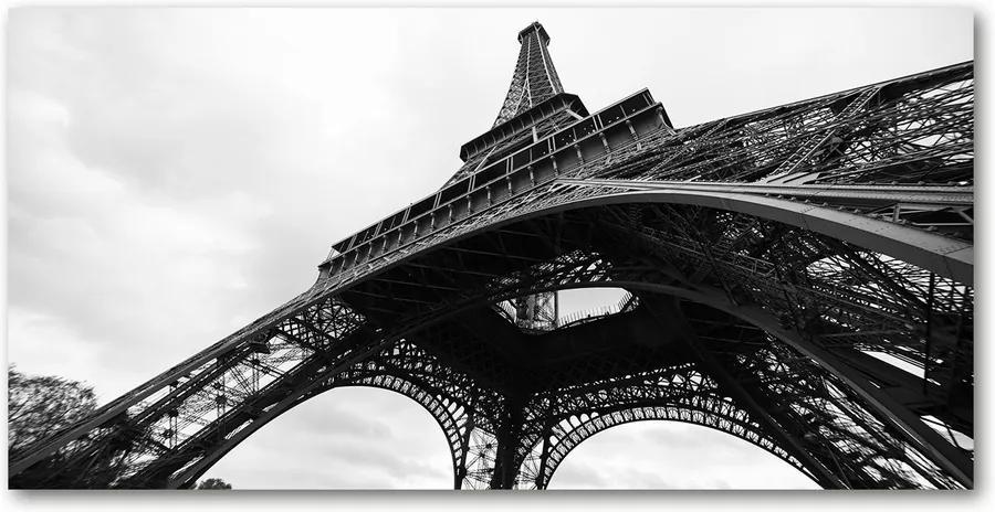 Tablou pe sticlă acrilică Turnul Eiffel din Paris